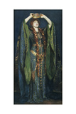 Ellen Terry as Lady Macbeth Giclee Print by John Singer Sargent