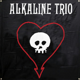 Alkaline Trio - Skull Heart Flag Stampa