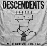 Descendents - Milo Goes To College Flag Print