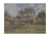 A Corner of the Meadow at Eragny Reproduction procédé giclée par Camille Pissarro
