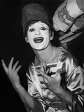 Mime Marcel Marceau During a Gala in Paris Early 60'S Foto