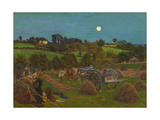 The Hayfield Giclee Print by Ford Madox Brown