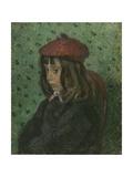 Portrait of Felix Pissarro Reproduction procédé giclée par Camille Pissarro