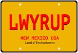 LWYRUP Plate Foto