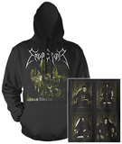 Hoodie: Emperor - Anthems To Welkin (Front/Back) Pullover con cappuccio