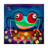The Frog Jumps Posters av Susse Volander