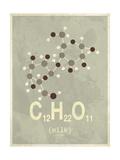 Molecule Milk Poster