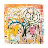 I Really Love You Kunst op metaal van Poul Pava