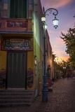 El Caminito at Dusk, La Boca, Buenos Aires, Argentina, South America Lámina fotográfica por Ben Pipe