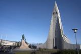 Hallgrimskirja Church, Reykjavik, Iceland, Polar Regions Photographic Print by Ethel Davies