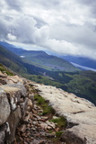 A View from the Mountain Track (Tourist Route), Ben Nevis, Highlands, Scotland Photographic Print by Charlie Harding