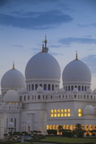 Sheikh Zayed Grand Mosque, Abu Dhabi, United Arab Emirates, Middle East Fotografisk trykk av Jane Sweeney