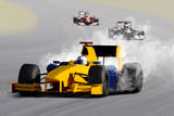 Race Car Fotoprint av  ssuaphoto