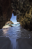 Sea Cave at Bigge Island, Kimberley, Western Australia, Australia, Pacific Premium-Fotodruck von Michael Nolan