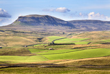 Pen Y Ghent from Above Langcliffe Near Settle, Yorkshire, England, United Kingdom, Europe Photographic Print by Mark Sunderland