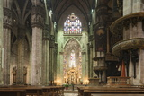 Interior of Milan Cathedral, Piazza Duomo, Milan, Lombardy, Italy, Europe Photographic Print by Ben Pipe