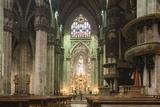 Interior of Milan Cathedral, Piazza Duomo, Milan, Lombardy, Italy, Europe Lámina fotográfica por Ben Pipe