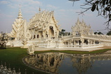 The White Temple (Wat Rong Khun), Ban Rong Khun, Chiang Mai, Thailand, Southeast Asia, Asia Photographic Print by Jochen Schlenker