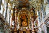 The Weiskirche (White Church), UNESCO World Heritage Site, Near Fussen, Bavaria, Germany, Europe Photographic Print by Robert Harding