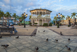 Gazebo in Central Park, Puerto Plata, Dominican Republic, West Indies, Caribbean, Central America Photographic Print by Jane Sweeney