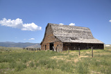 Old Barn Dating from Approx 1890S Stretched Canvas Print by Richard Maschmeyer