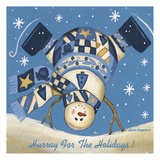 Hurray For The Holidays Posters par Laurie Korsgaden