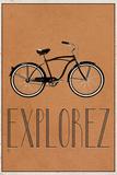 Explorez (French - Explore) Lámina