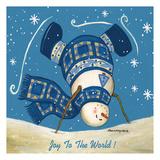 Let It Snow Art par Laurie Korsgaden