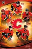 Calgary Flames -Team 14 Kunstdrucke