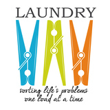 Laundry Sorting Poster par Taylor Greene