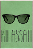 RILASSATI (Italian -  Relax) Poster