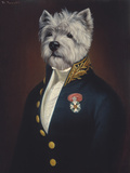 The Officer's Mess Giclee Print by Thierry Poncelet