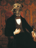 Monsieur Giclée-tryk af Thierry Poncelet
