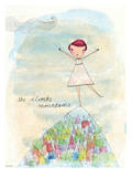 Camille Colouring In Book Kunstdruck von Paula Mills