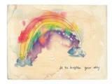 Brighten Your Day Kunstdruck von Paula Mills