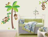 Scimmie birichine (sticker murale) Decalcomania da muro