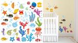 Meraviglie dell'oceano (sticker murale) Decalcomania da muro