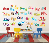 Whimsical Alphabet Wandtattoo