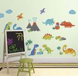 Dino Friends Autocollant mural