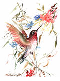 Hummingbird Poster by Suren Nersisyan