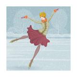 Beautiful Ice Skater Posters by  Milovelen