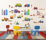 City Construction Wallstickers