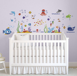 The Deep Blue Sea Wall Decal