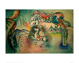 Rider, St George, 1915 Giclee Print by Wassily Kandinsky