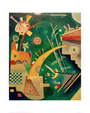 Horn Shape, 1924 Giclee Print by Wassily Kandinsky