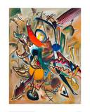 Painting with Points, 1919 Giclee-trykk av Wassily Kandinsky