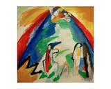 Mountain, 1909 Giclee Print by Wassily Kandinsky