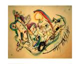 Firebird, 1916 Giclee Print by Wassily Kandinsky