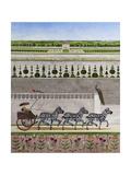 A Zeal of Zebras Giclée-tryk af Rebecca Campbell