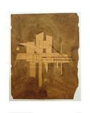 Untitled, 1925 Gicléetryck av Wassily Kandinsky